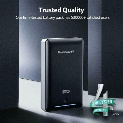 ravpower portable charger mah external battery power