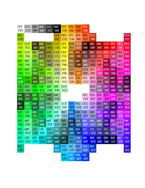 hex color color hex code the 25 best hexadecimal chart ideas on color