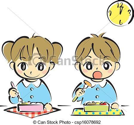 imagenes animadas almorzando dibujo almorzar imagui