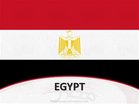 powerpoint themes egypt 10105 egypt flag template 1 free powerpoint templates