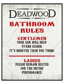 bathroom etiquette signs bathroom and etiquette signs