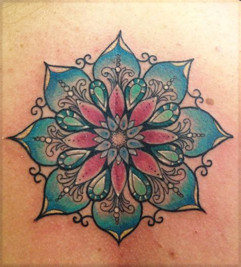 mandala tattoos lotus mandala on mandala lotus