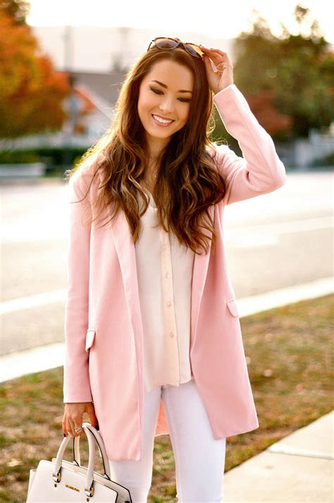 Dress Model Style Pink Blue Brown Impor we are seeing a lot of colorful coats and ideas