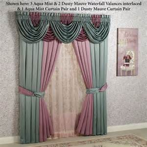 Ideas For Curtains color classics r window treatments valance and window