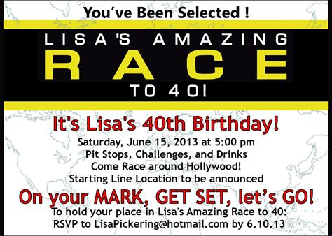 amazing race templates amazing race birthday templates 28 images amazing race