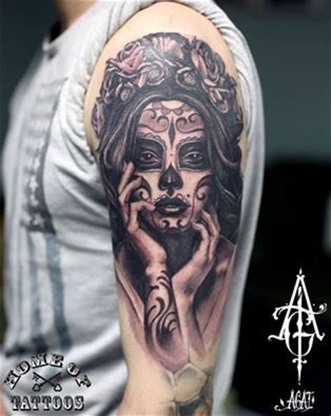 la muerte tattoo logiabarcelona buscar con tattoos la santa