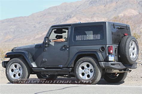 jeep wrangler grey 2 door we hear next gen jeep wrangler to stay true to its roots