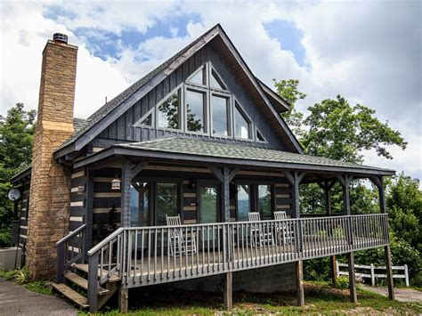 Hearthstone Cabin Rentals by Hearthstone Log Home Top Of Bluff Mountain Vrbo