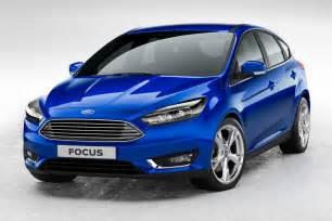 Ford Docus 2015 Ford Focus Facelift Revealed Updated Inside Evs