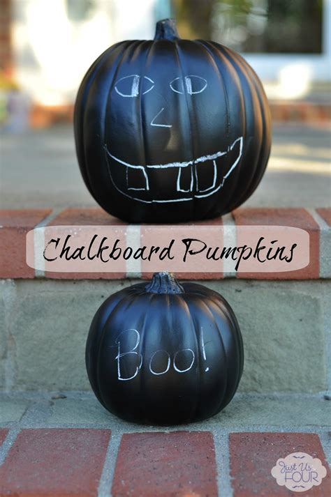 chalkboard paint pumpkin chalkboard paint pumpkins my suburban kitchen