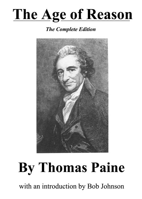 the revolution from enlightenment to tyranny books the age of reason the complete version by paine