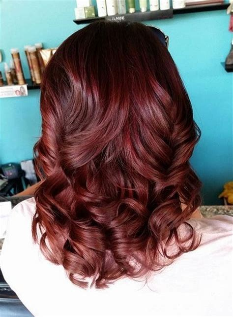 cherry chocolate hair color hair color inspiration