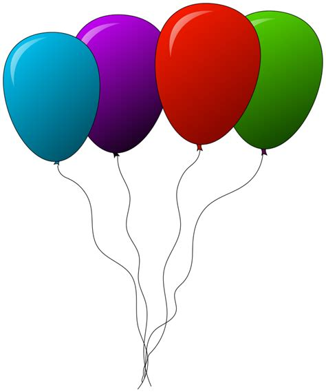 Balloons four recreation party party balloons balloons four png html