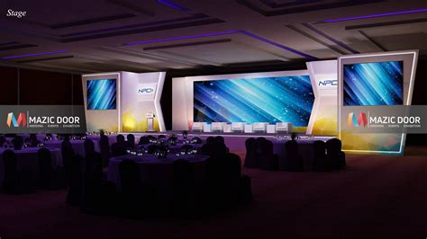 NPCI Conference Setup   Mazic Door