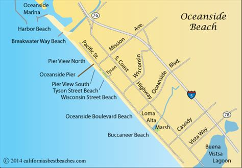 oceanside california map pier fishing in california breeds picture
