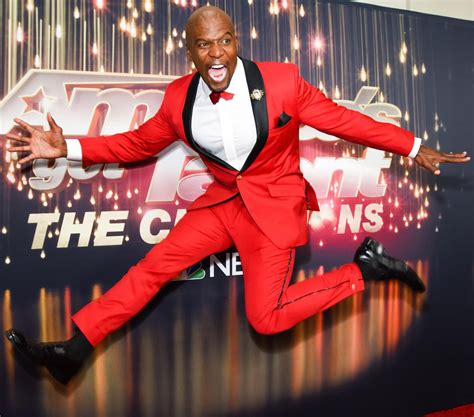 terry crews joins agt agt the chions promises singing juggling sword