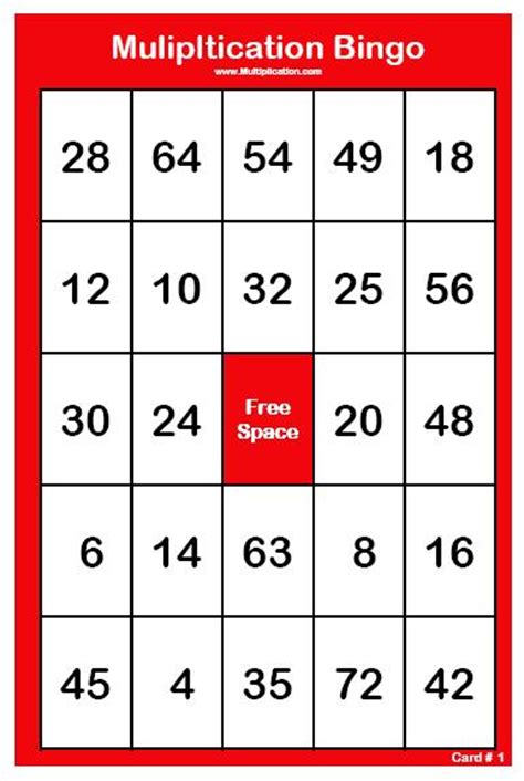 printable times tables cards free printable multiplication bingo cards 30