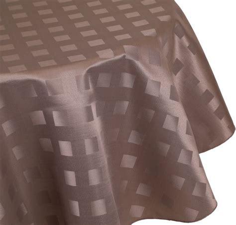 tischwäsche betz nappe jacquard linge de table dessin 13 couleur marron