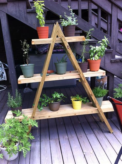 herb shelf bo s herb shelf flowers pinterest