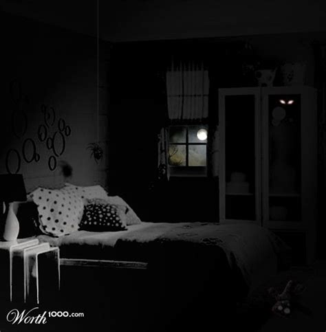 Creepy Bedroom by Scary Bedroom Photos