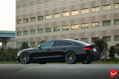 Audi S5 Sportback Tuning by Vossen Wheels Audi S5 Sportback Black Tuning Cars