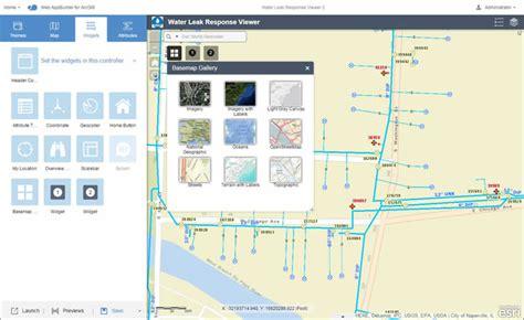 arcgis webapp builder tutorial arcwatch create web apps rapidly using web appbuilder