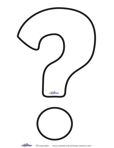 printable question mark free coloring pages of question mark