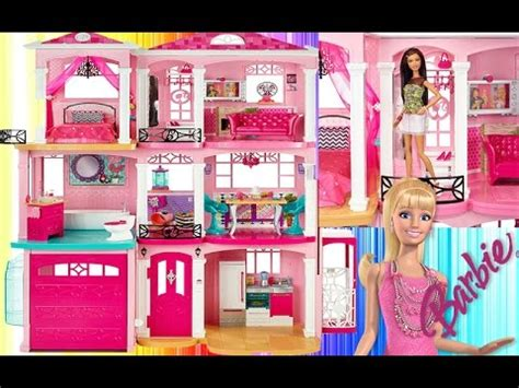 youtube barbie doll house barbie doll house barbie malibu dreamhouse new mattel barbie r 252 ya evi yeni