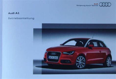 Audi A1 Owners Manual audi a1 2010 owners manual german pdf