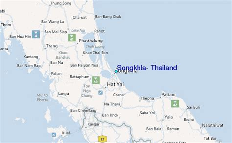 regional map local map detailed map songkhla thailand tide station location guide