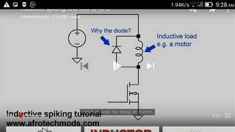 cl diode inductive load how to protect transistor from inductive loads using diodes page 1