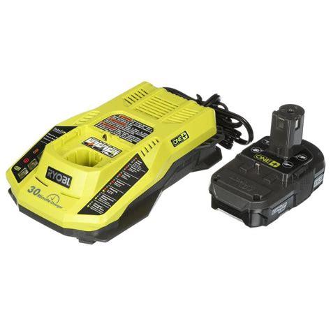 ryobi 7 2 v battery charger ryobi 18v one lithium battery and charger upgrade kit