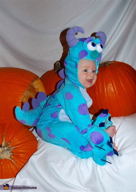 sully  monsters  baby costume photo