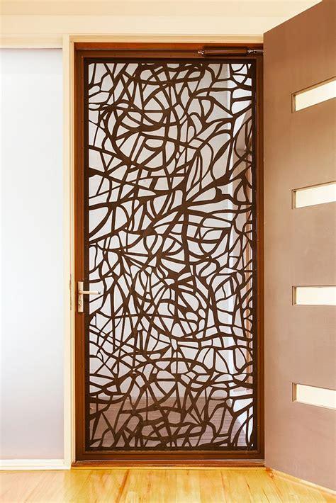 art design genetic screens architectural security screen doors by entanglements metal