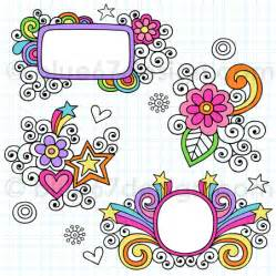how to make a doodle sign up notebook doodle frames vector illustration by