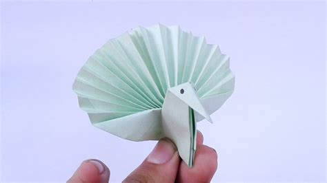 How To Make An Origami Peacock Step By Step - origami peacock origami peacock step by step
