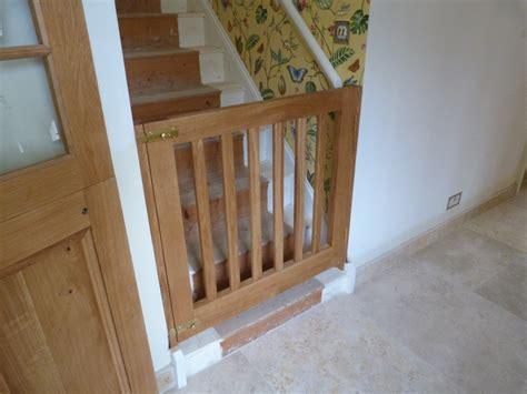 sawdust in my socks oak stair gate