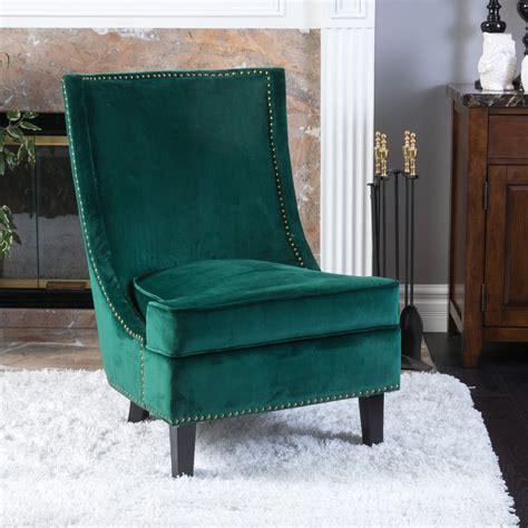 velvet accent chairs christopher home 296306 brayden mid century velvet