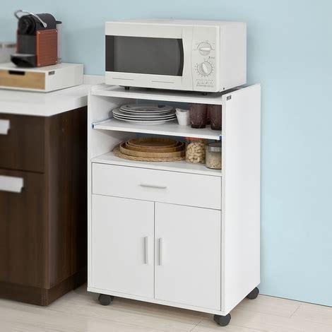 scaffale per cucina sobuy scaffale per forno a microonde carrello da cucina