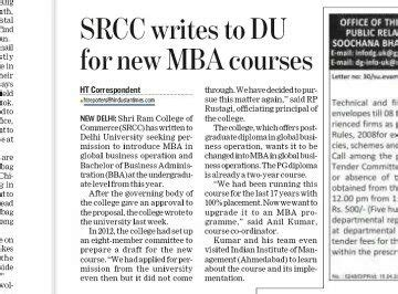 Srcc Mba Placements by How Is Srcc S Gbo Programme How Are The Placements And