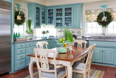 Kitchen Interiors Natick unexpected pop of color kitchen cabinets how to nest