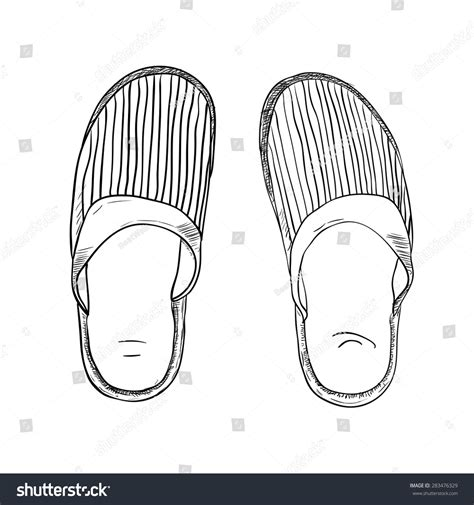 drawing slippers related keywords suggestions for slippers sketch