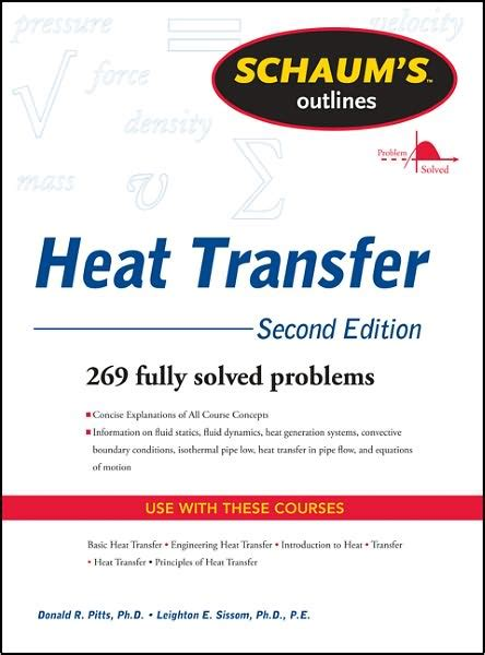 cryogenic heat transfer second edition books schaum s outline of heat transfer 2nd edition donald