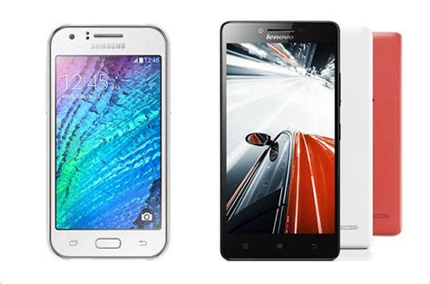 Samsung J1 Vs Lenovo A6000 Comparison Samsung Galaxy J1 Vs Lenovo A6000