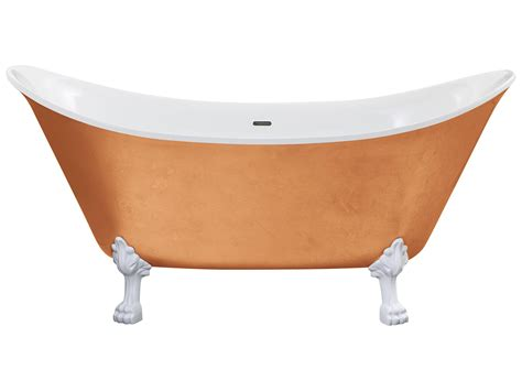 bathtub effect heritage lyddington fs copper effect acrylic bath with