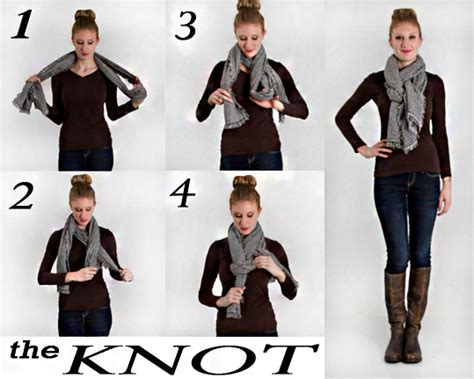 step by step scarf styles images