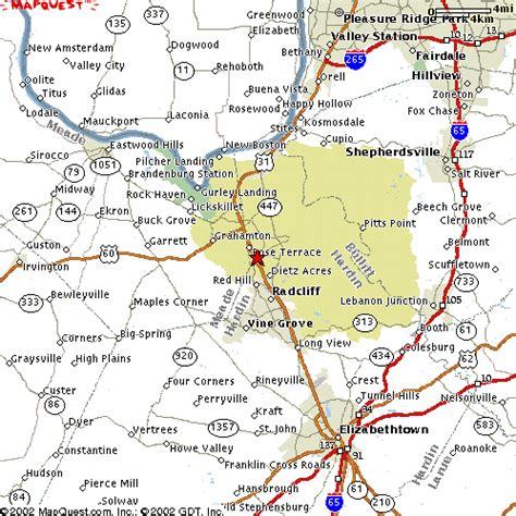 kentucky map fort ft map
