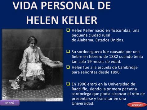 biografi de helen keller presentacion de informatica de hellen keller