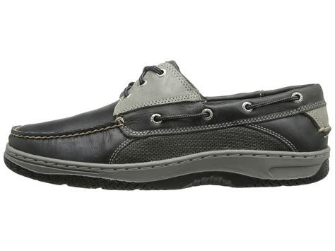 Sperry Hitam Size 21 26 sperry top sider billfish 3 eye boat shoe in gray for lyst