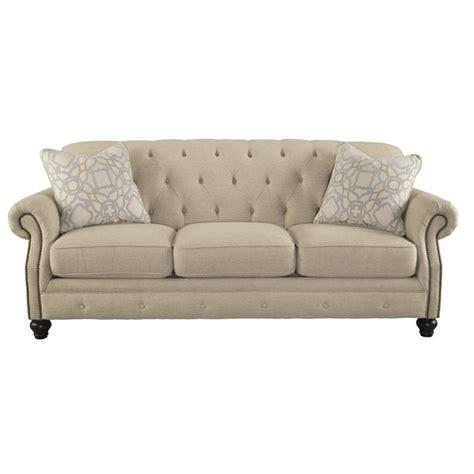 natural sofas ashley kieran sofa in natural 4400038